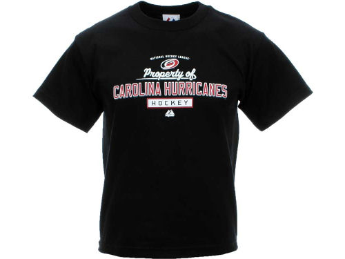Carolina Hurricanes Majestic NHL Youth Property of T-Shirt