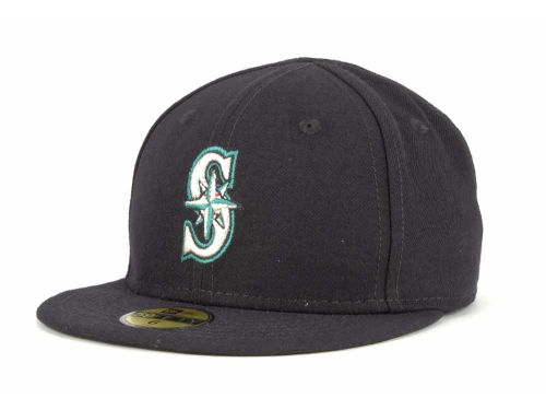 Seattle Mariners New Era MLB Authentic Collection 59FIFTY Cap Hats