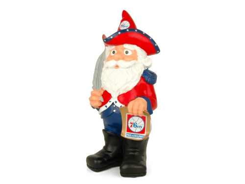 Philadelphia 76ers Forever Collectibles Team Thematic Gnome