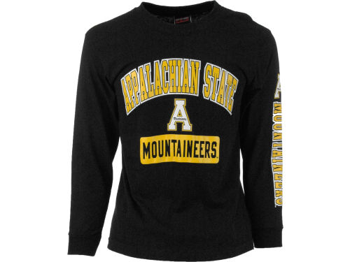 Appalachian State Mountaineers Outerstuff NCAA Youth GS Arch Long Sleeve T-Shirt
