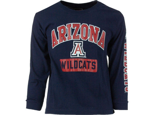 Arizona Wildcats Outerstuff NCAA Youth GS Arch Long Sleeve T-Shirt