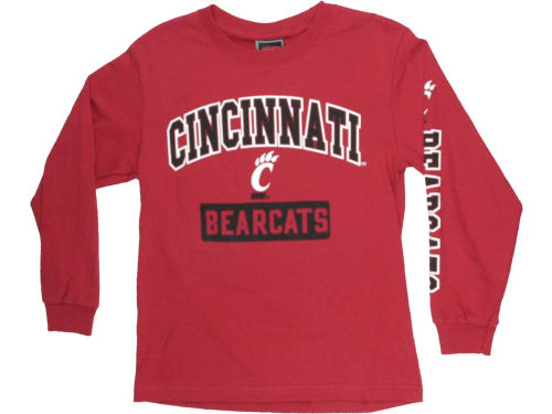 Cincinnati Bearcats Outerstuff NCAA Youth GS Arch Long Sleeve T-Shirt