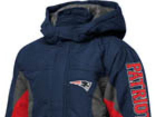 New England Patriots Outerstuff NFL Youth Midweight Jacket