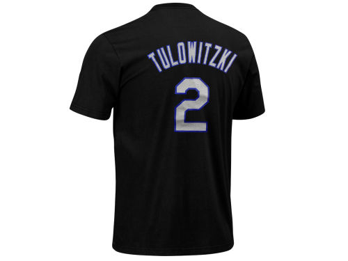 Colorado Rockies Troy Tulowitzki Majestic MLB Youth Player T-Shirt