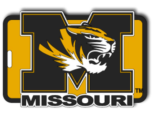 Missouri Tigers Soft Bag Tag