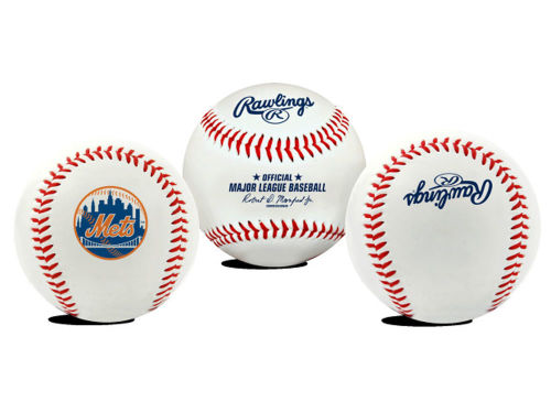 New York Mets Jarden Sports The Original Team Logo Baseball