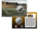 Missouri Tigers Highland Mint Coin Card-Silver Collectibles