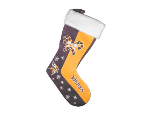 Minnesota Vikings Forever Collectibles Team Logo Stocking