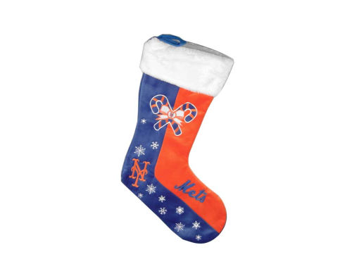 New York Mets Forever Collectibles Team Logo Stocking