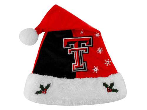 Texas Tech Red Raiders Team Logo Santa Hat
