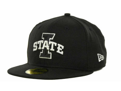 New Era NCAA Black on Black with White 59FIFTY Cap Hats