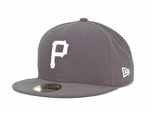 Pittsburgh Pirates New Era MLB C-Dub 59FIFTY Cap Hats