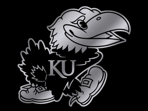 Kansas Jayhawks Rico Industries Pro Window Graphic 5x6