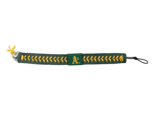 Oakland Athletics Game Wear Team Color Baseball Bracelet