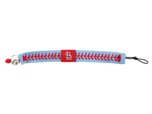 St. Louis Cardinals Game Wear Team Color Baseball Bracelet