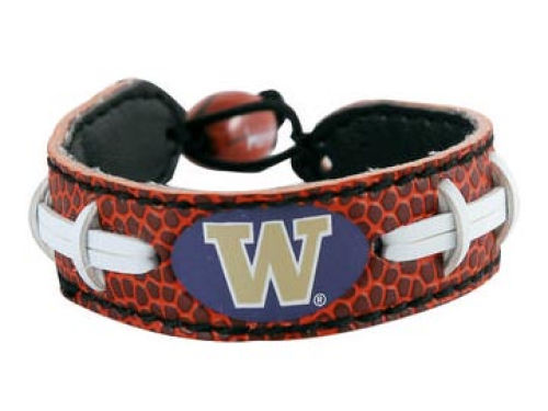 Washington Huskies Football Bracelet