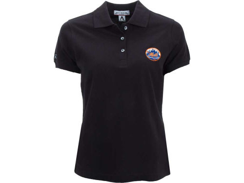 New York Mets Antigua MLB Womens Classic Polo