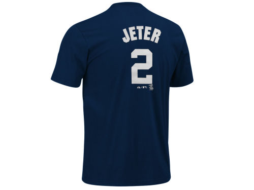New York Yankees Derek Jeter Franco MLB Player T-Shirt