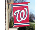 Washington Nationals Applique House Flag Collectibles