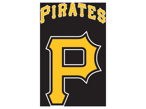 Pittsburgh Pirates Applique House Flag