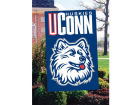 Connecticut Huskies Applique House Flag Collectibles