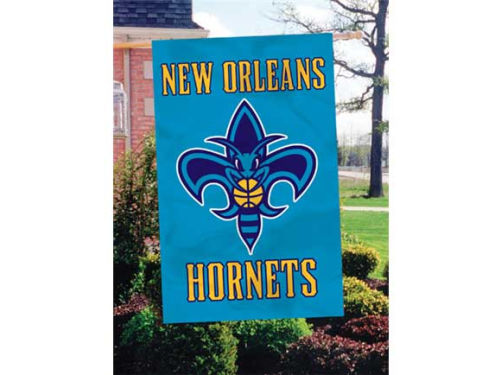 New Orleans Hornets Applique House Flag