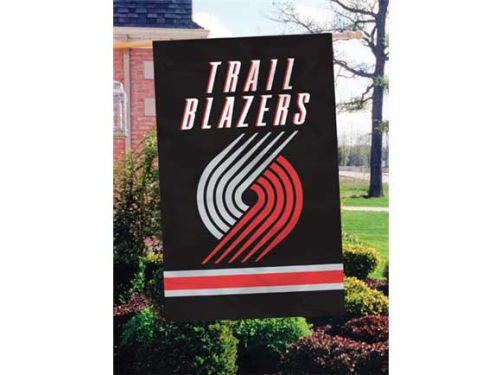 Portland Trail Blazers Applique House Flag