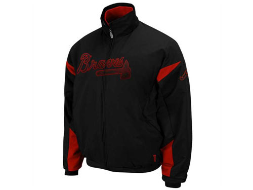 Atlanta Braves Majestic MLB Therma Base 3peak Premier Jacket