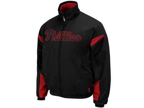 Philadelphia Phillies Majestic MLB Therma Base 3peak Premier Jacket