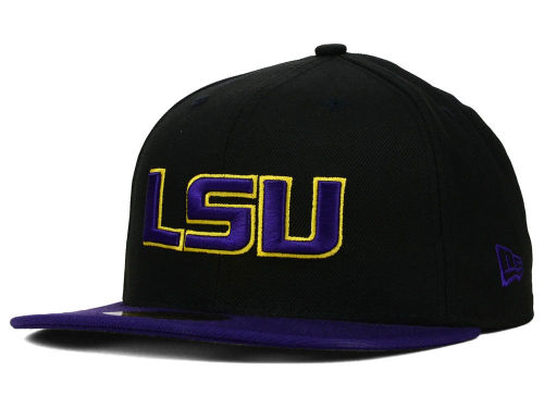 LSU Tigers New Era NCAA 2 Tone 59FIFTY Cap Hats