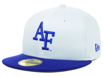 Air Force Falcons NCAA White 2 Tone 59FIFTY Cap Hats