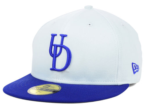 Delaware Blue Hens New Era NCAA White 2 Tone 59FIFTY Cap Hats