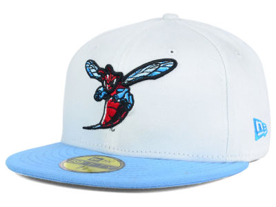 Delaware State Hornets NCAA White 2 Tone 59FIFTY Cap Hats