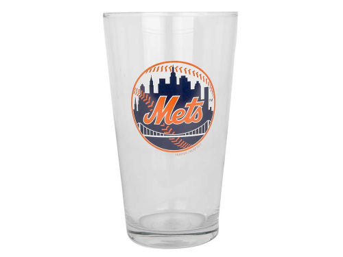 New York Mets 17oz Mixing Glass