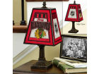 Chicago Blackhawks Art Glass Table Lamp Bed & Bath