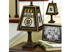 Boston Bruins Art Glass Table Lamp Bed & Bath