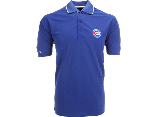 Chicago Cubs Antigua MLB Impact Polo