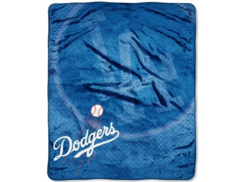 Los Angeles Dodgers The Northwest Company 50x60in Plush Throw Retro