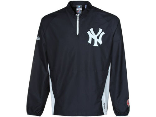 New York Yankees Majestic MLB Triple Peak Convertible Gamer Jacket