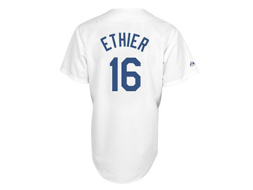 Los Angeles Dodgers Ethier Majestic MLB Player Replica Jersey