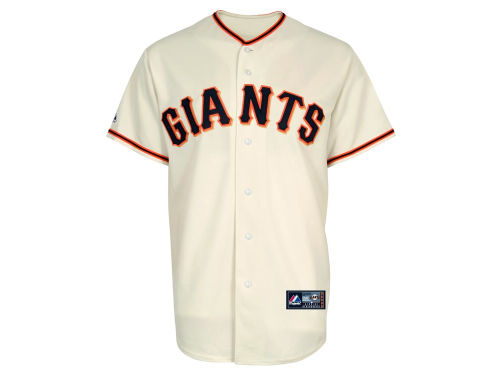 San Francisco Giants Majestic MLB Blank Replica Jersey
