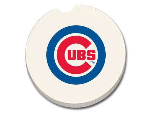 Chicago Cubs 2 Pack Car Coasters