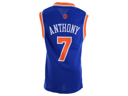 New York Knicks Carmelo Anthony Outerstuff Youth NBA Revolution 30 Jersey