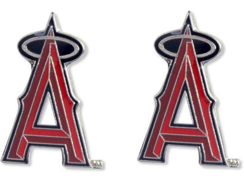 Los Angeles Angels of Anaheim Aminco Inc. Logo Post Earrings