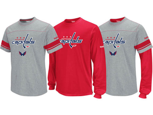 Washington Capitals NHL 3-in-1 Option Combo Pack T-Shirt