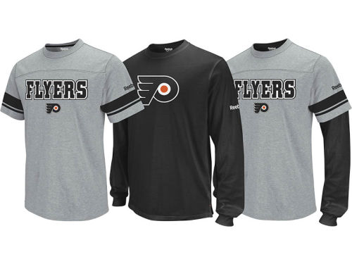 Philadelphia Flyers NHL 3-in-1 Option Combo Pack T-Shirt