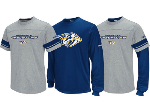 Nashville Predators NHL 3-in-1 Option Combo Pack T-Shirt