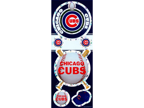 Chicago Cubs Wincraft Prismatic Decal