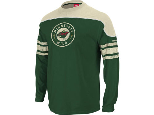Minnesota Wild Reebok NHL Shootout Long Sleeve T-Shirt