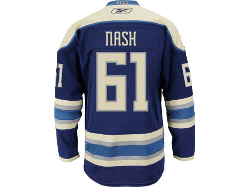 Columbus Blue Jackets Rick Nash Reebok NHL Premier Player Jersey
